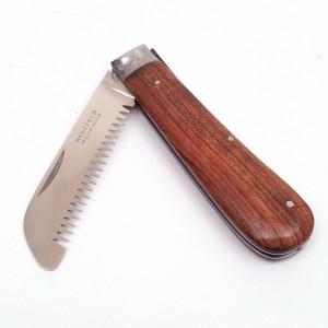 Trimovací nůž zavírací na hřívu a srst
