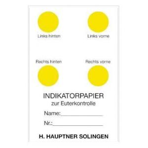 Indikační papírky pro rychlou detekci mastitidy, 20 listů