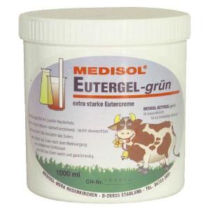 Gel na vemena,  1 litr, zelený - prevence proti mastitidě